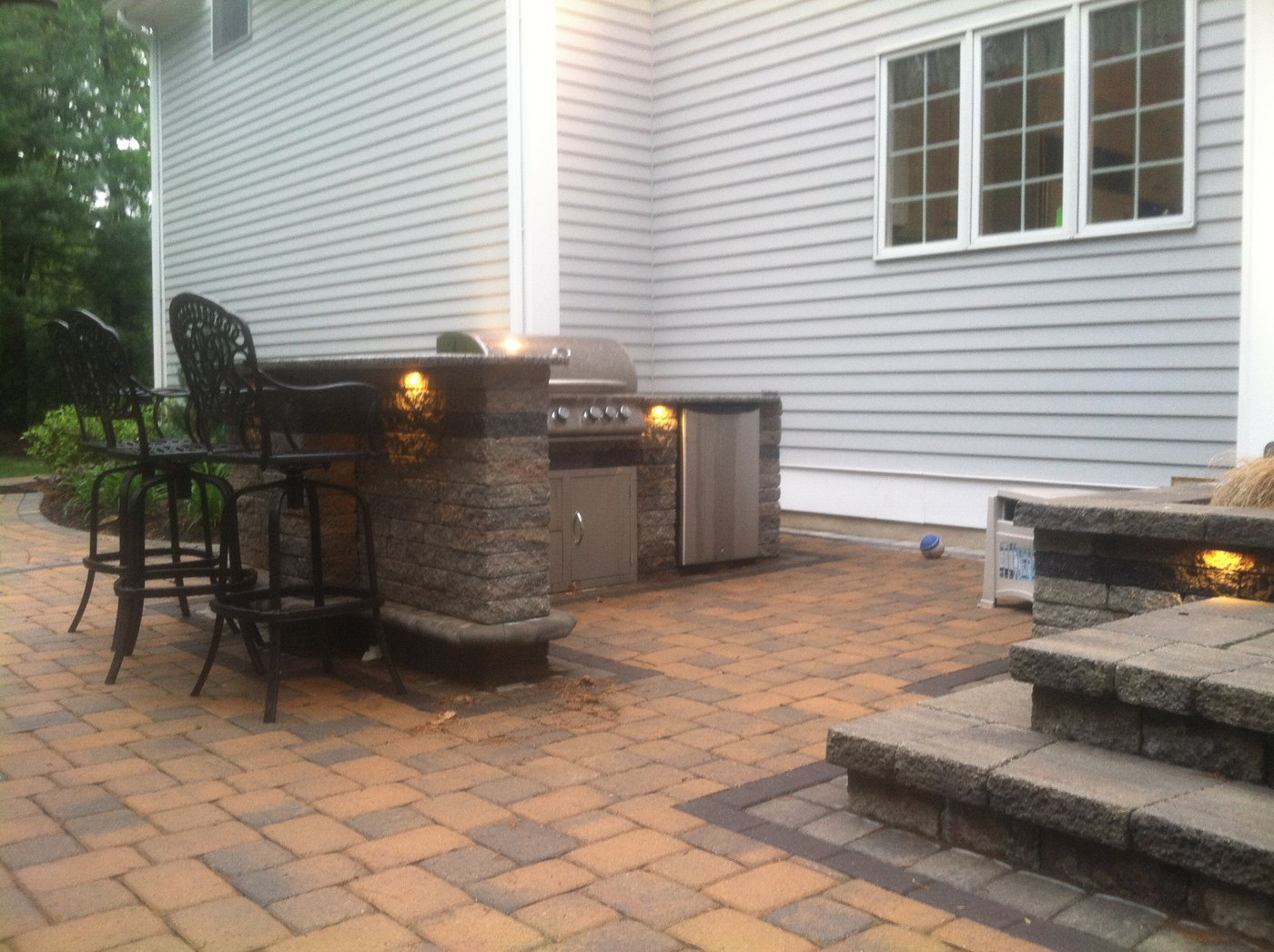 Built in Outdoor Kitchens in Connecticut