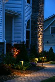 Front Landscape Lighting
