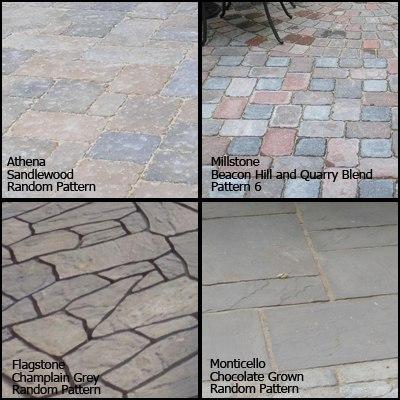 athena millstone flagstone monticello product lineup
