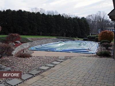 Wow! From Pool to Paver Patio