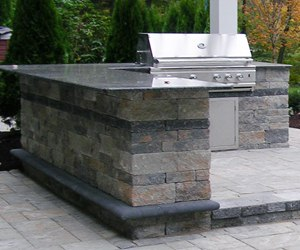 How much does a built in grill cost for How much does it cost to build an outdoor kitchen