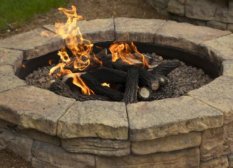 The Gas Fire Pit.
