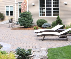 Delightful Paver Pool Patio, Bahler Brothers Inc, South Windsor, CT