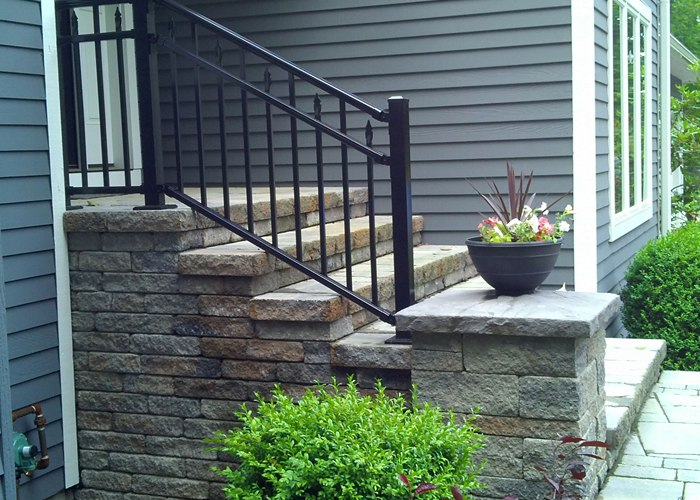 Stone Steps installed in Connecticut by Bahler Brothers