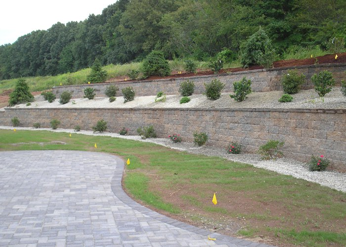 Retaining Wall Installation In Connecticut The Bahler