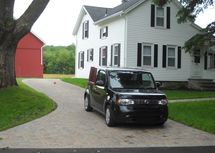 Paver driveway in Stafford Springs, CT.