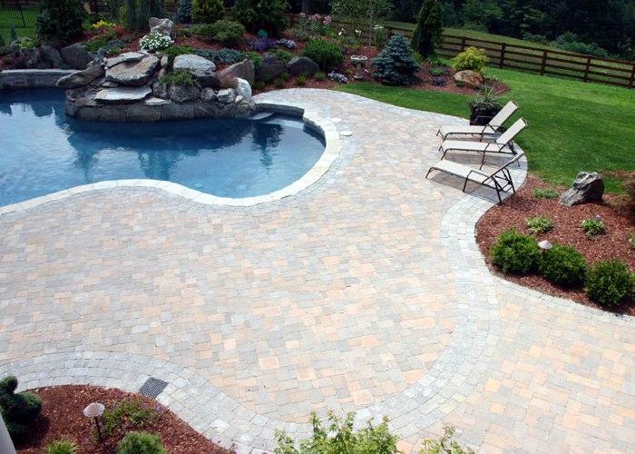 Pool Patio Designs inground pool Paver Pool Patio In Ellington Ct