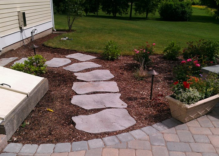 stepping stone pathway by Bahler Brothers