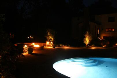Create the Ultimate Outdoor Living Space Landscape Lighting by Bahler Brothers in CT