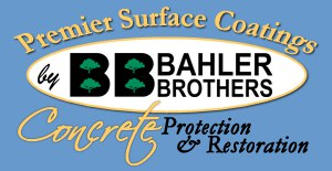 premier surface coatings by bahler brothers logo concrete protection and restoration