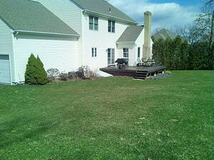 Before deck removed by Bahler Brothers, South Windsor, CT