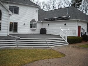 Before Deck Replacement by Bahler Brothers Enfield, CT