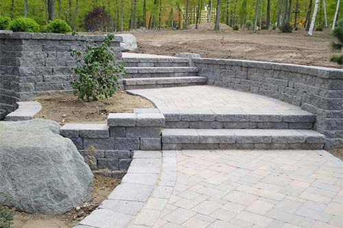 Retaining Wall Project in Northern/Central Connecticut