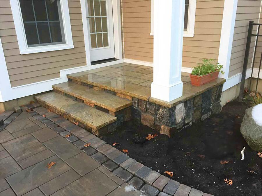 natural stone as an overlay material option