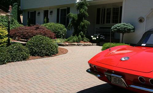 paver_driveway_and_corvette